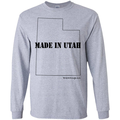 Made In Utah Long Sleeve Light T-Shirts