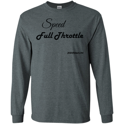 Speed Full Throttle Long Sleeve T-Shirt
