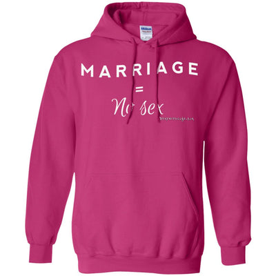 Marriage No Sex Hoodies