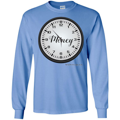 Money Time Long Sleeve Light T-shirts