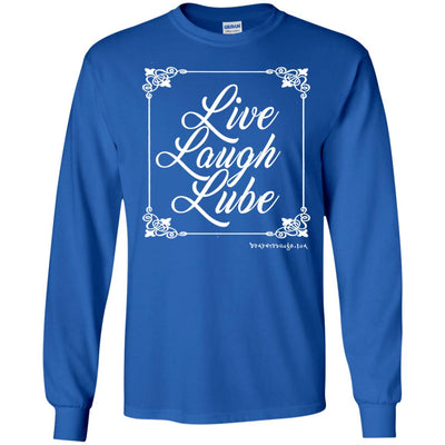 Live Laugh Tube  Long Sleeve Dark T-shirts