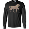 Camo Print Horse Long Sleeve T-Shirt