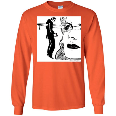 Eye Dagger Long Sleeve Light T-shirts