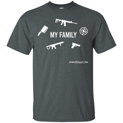 My Family Weapons Short Sleeve Tshirt