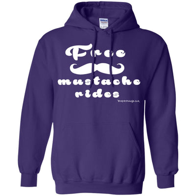 Free Mustache Rides Hoodies