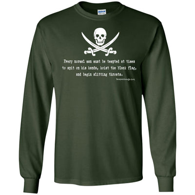 Hoist Black Flag  Long Sleeve Dark T-shirts