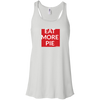 EAT MORE PIE  Ladies' Flowy Racerback Tank