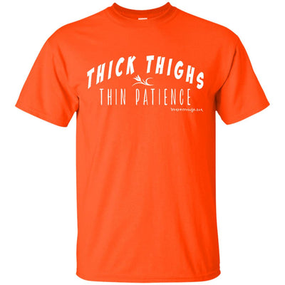 Thin Patience Thick Thighs Dark T-shirts