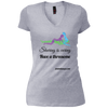 Sharing Is Caring Threesome V-Neck T-Shirt