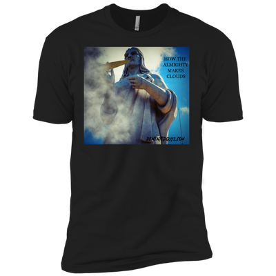 How The Almighty Makes Clouds Short Sleeve T-Shirt