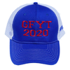 GFYT GO F!@# YOURSELF TRUMP BLUE/WHITE TRUCKERS HAT