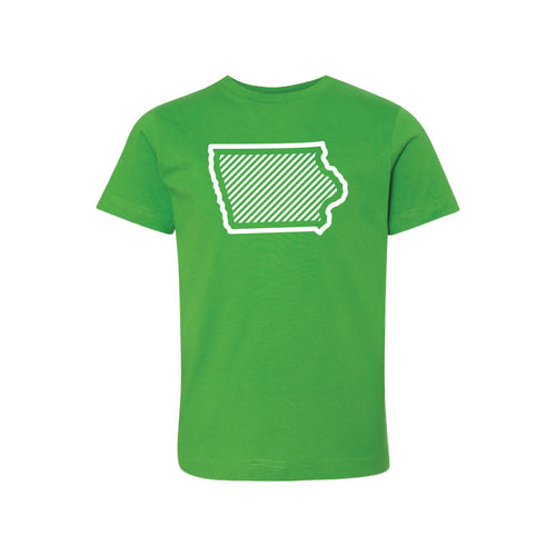 Iowa t-shirt - apple - kids t-shirt - soft and spun apparel