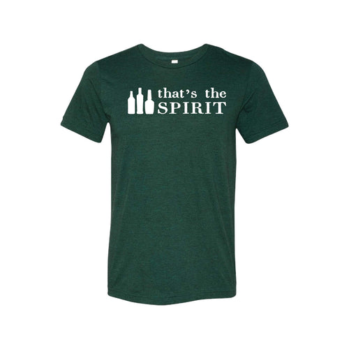 that's the spirit - emerald - christmas t-shirts - soft and spun apparel