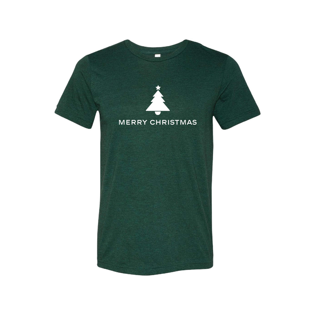 merry christmas t-shirt - emerald - soft and spun apparel