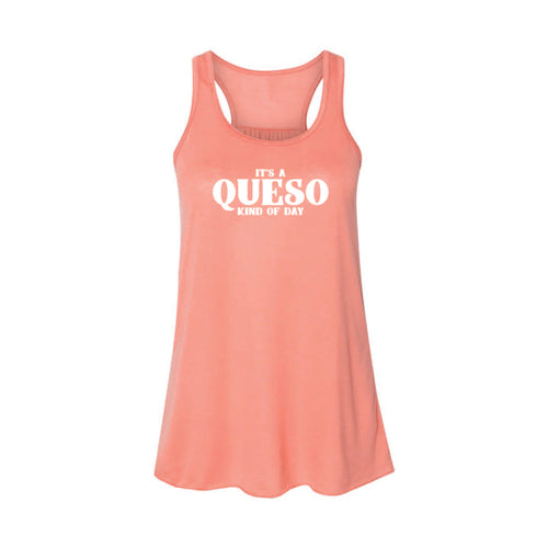 It's A Queso Kind of Day Women's Tank-XS-Sunset-soft-and-spun-apparel