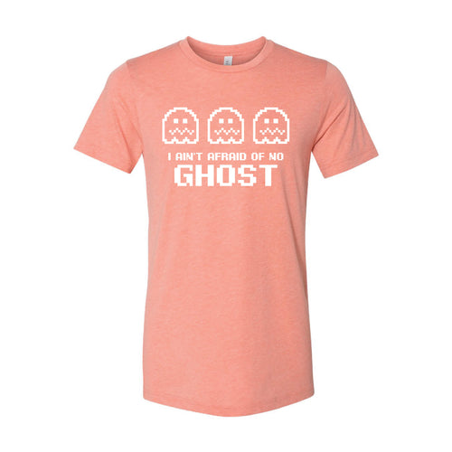 I Ain't Afraid of No Ghost T-Shirt-XS-Sunset-soft-and-spun-apparel