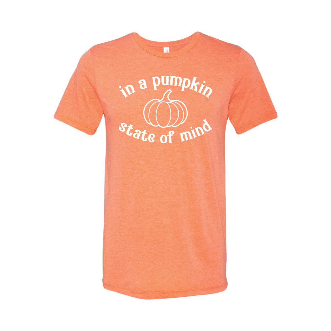 In A Pumpkin State of Mind T-Shirt-XS-Orange-soft-and-spun-apparel