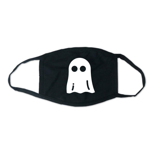 Halloween Ghost Mask (Glow-In-The-Dark Available)-Standard White-soft-and-spun-apparel