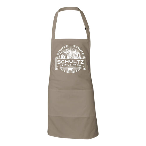 Schultz Family Farm Apron-Sandalwood-soft-and-spun-apparel