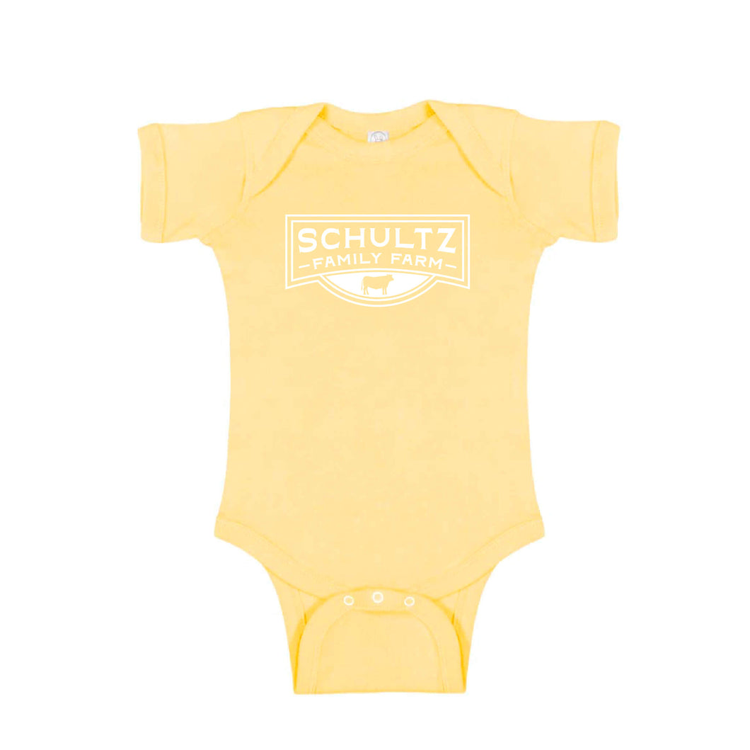 Schultz Family Farm Short Sleeve Onesie