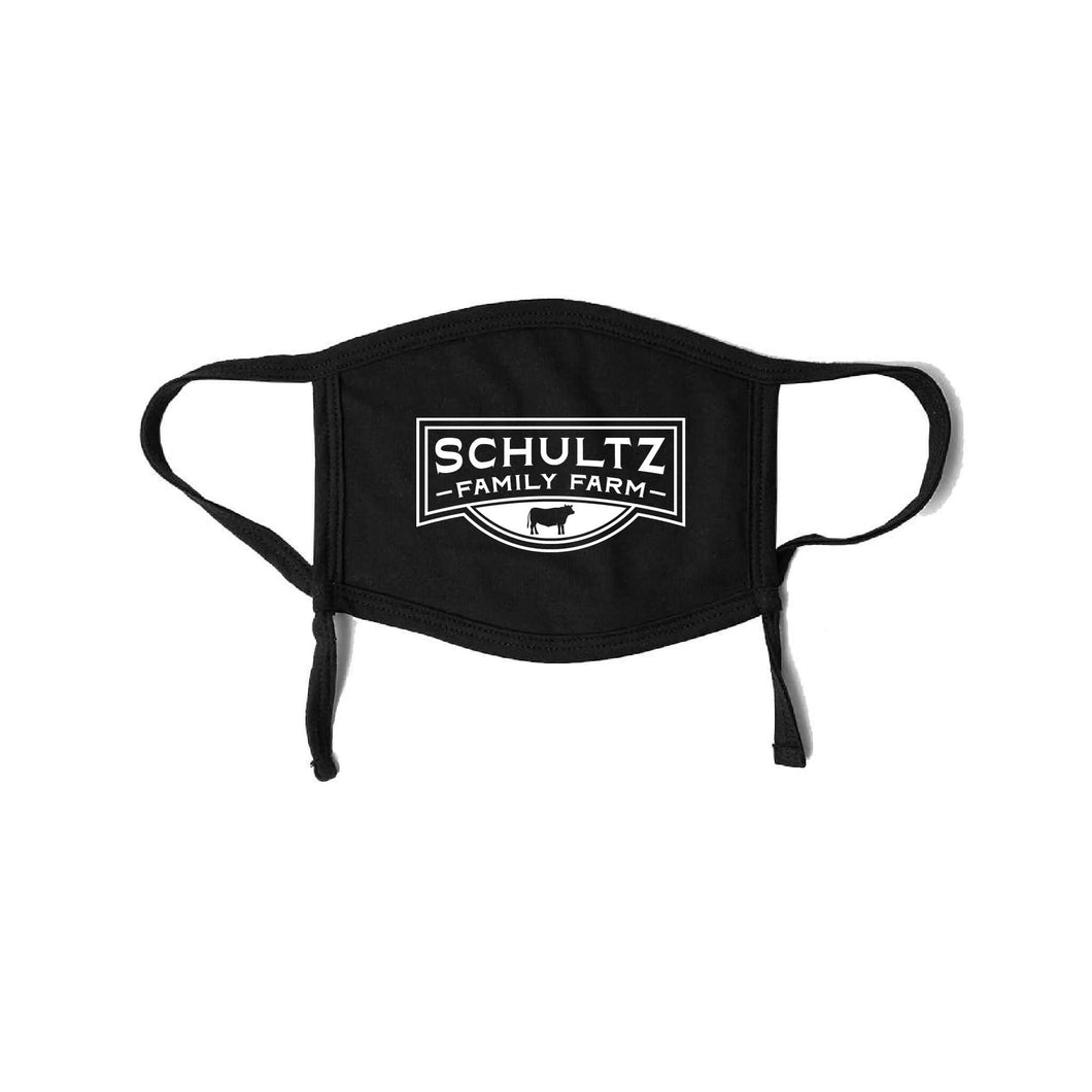 Schultz Family Farm Adjustable Mask-Adult-soft-and-spun-apparel