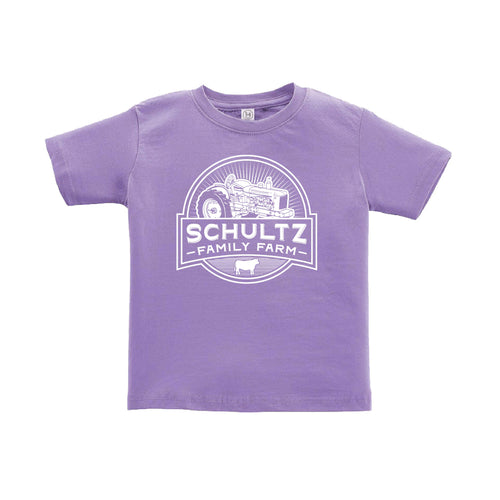 Schultz Family Farm Toddler Short Sleeve Tee