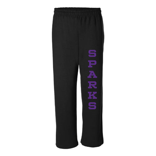 Ankeny Sparks 2019 Sweatpants-Adult Small-Purple-soft-and-spun-apparel