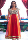 NURSING ANARKALI GOWN RENTAL