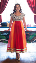 NURSING ANARKALI GOWN