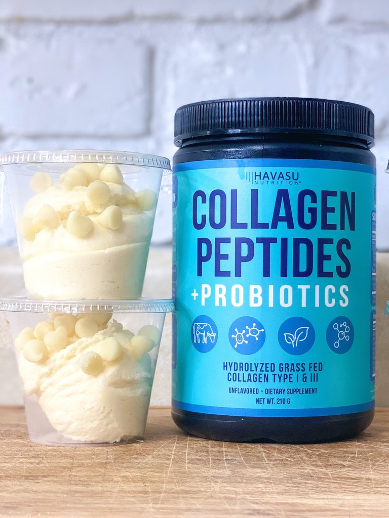 Sugar-Free White Chocolate Glow-Up Collagen Cups