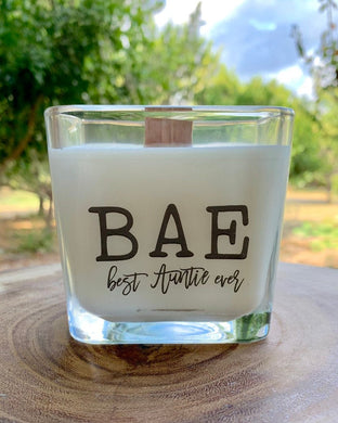 Best Aunt Ever Best Aunt Gifts Gifts For Aunt Candle With Message Aunt Birthday Gifts Personlized - TheShabbyWick
