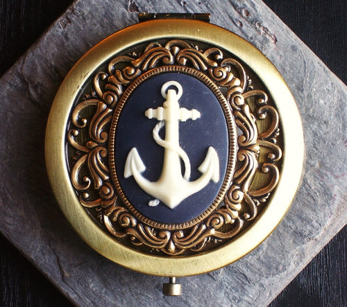 Nautical compact mirror