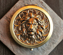 Lion pill box
