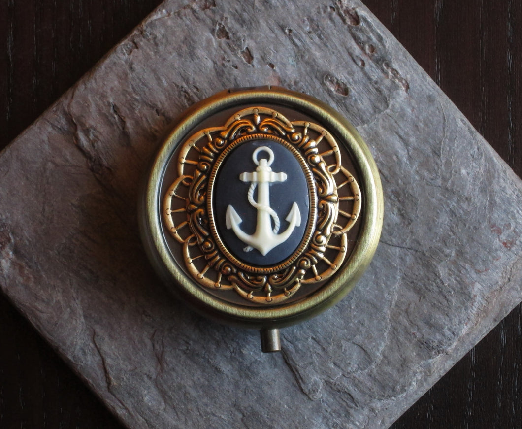 Nautical pill box