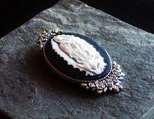 Our Lady of Guadalupe cameo brooch
