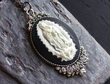 Our Lady of Guadalupe cameo necklace