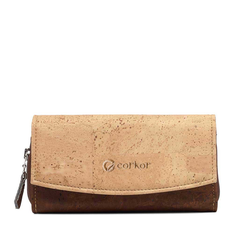 Classic Women's Vegan Wallet - Natural