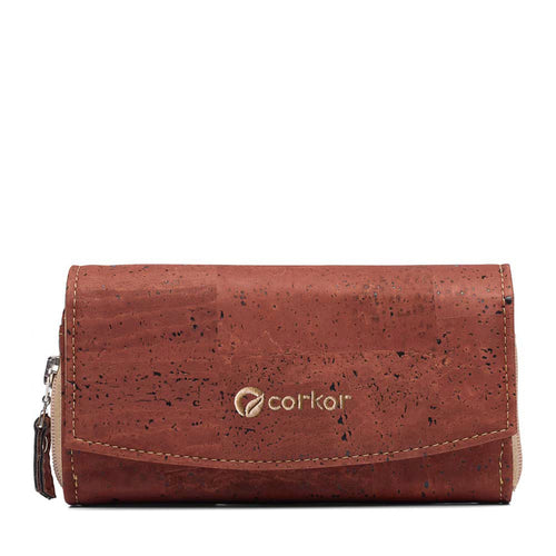 Classic Women's Vegan Wallet - Red