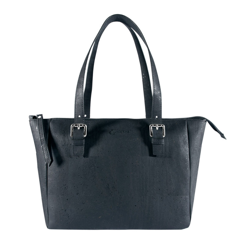 Vegan Satchel - Black