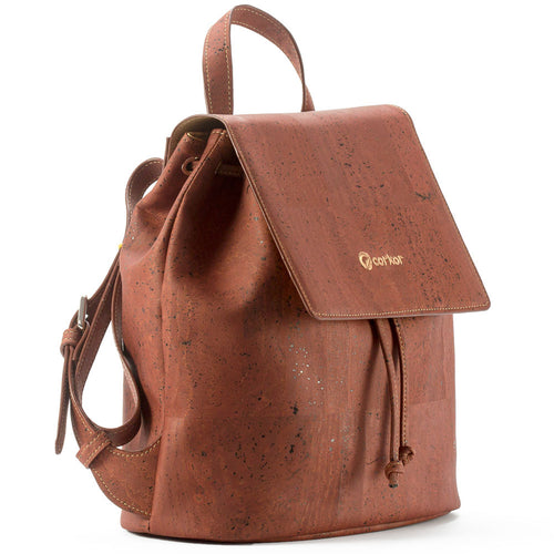 Vegan Backpack - Red