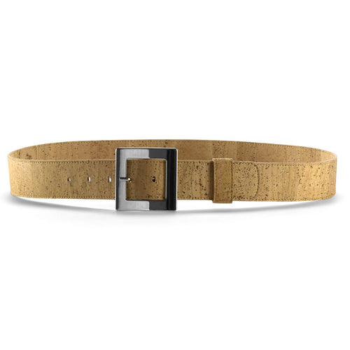 Men's Vegan Belt - Natural