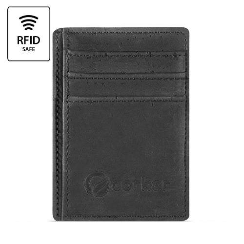 Front Pocket Wallet - Black