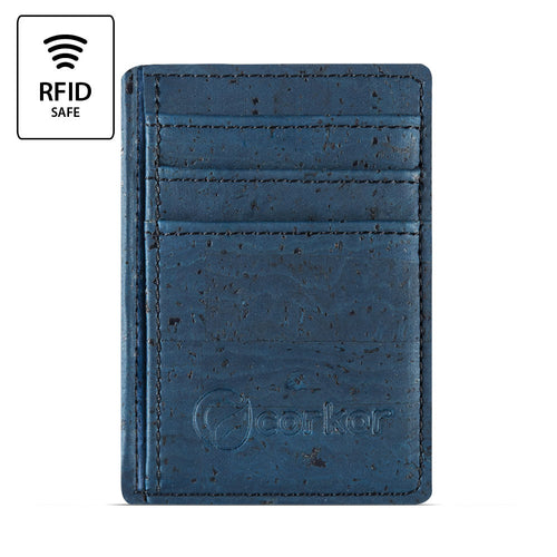 Front Pocket Wallet - Blue