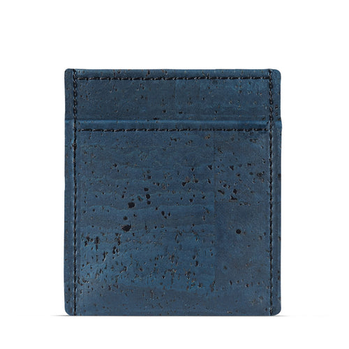 Vegan Minimalist Wallet - Blue