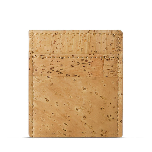 Vegan Minimalist Wallet - Natural