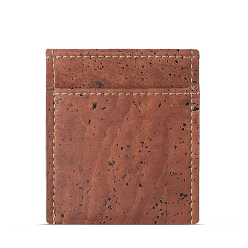 Vegan Minimalist Wallet - Red