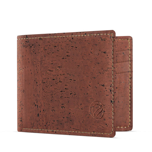 Slim Vegan Wallet - Red