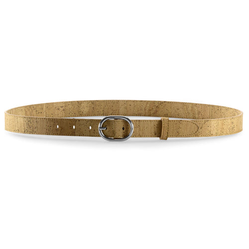 Women's Vegan Belt - Natural