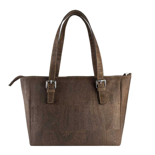 Vegan Satchel - Brown