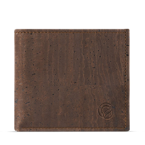 Classic Vegan Wallet - Brown